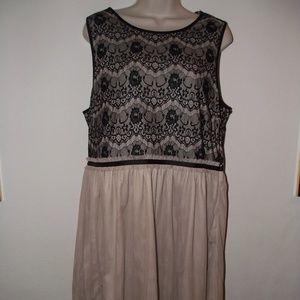 NWOT! F21 Tulle Bottom Dress. | 1X